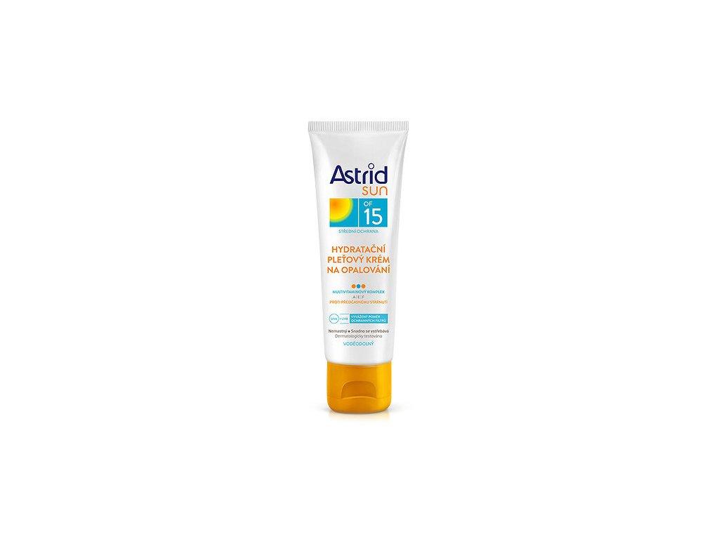 Astrid Sun OF 15/30, hydratační pleťový krém na opalování, 75 ml
