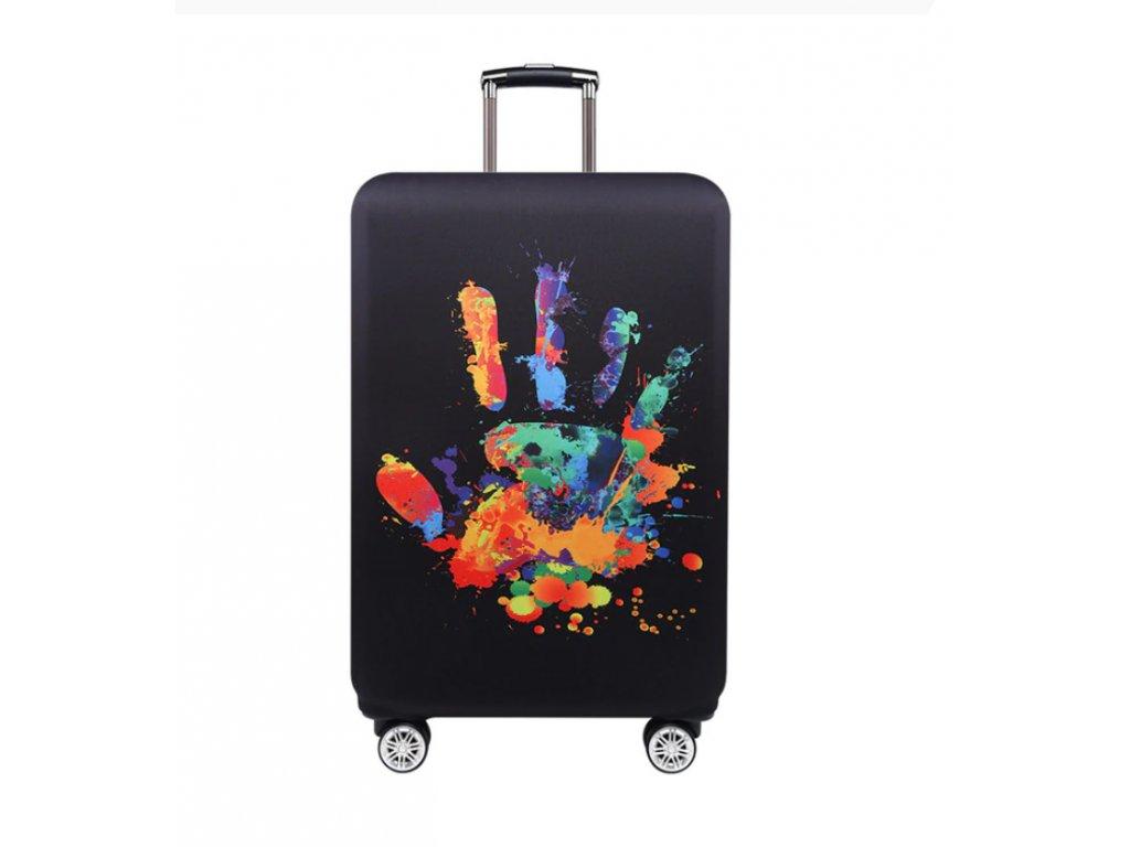 ochranny obal na kufr ruka