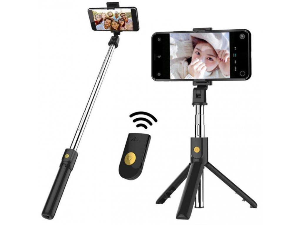 selfie tyc s bluetooth stativ tripod 3v1 b