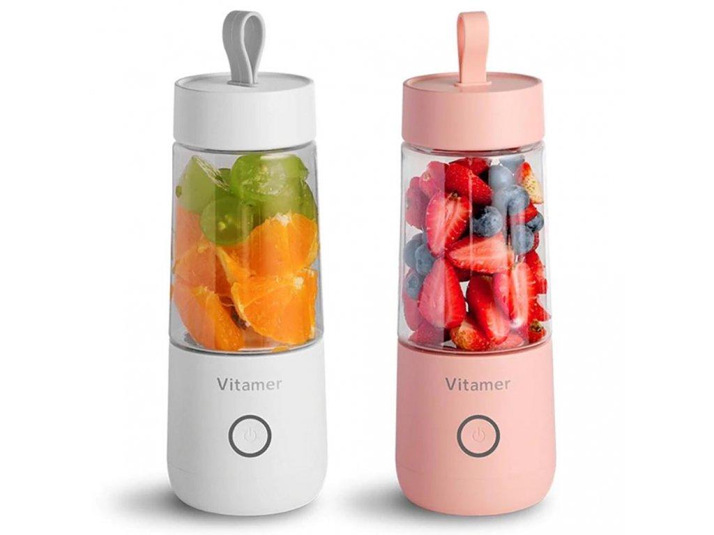 vitamer prenosny smoothie maker mixer s usb 350 ml e