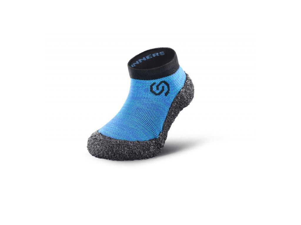 skinners 1 0 barefoot ponozkoboty pro deti vyrobeno v cr modra (2)