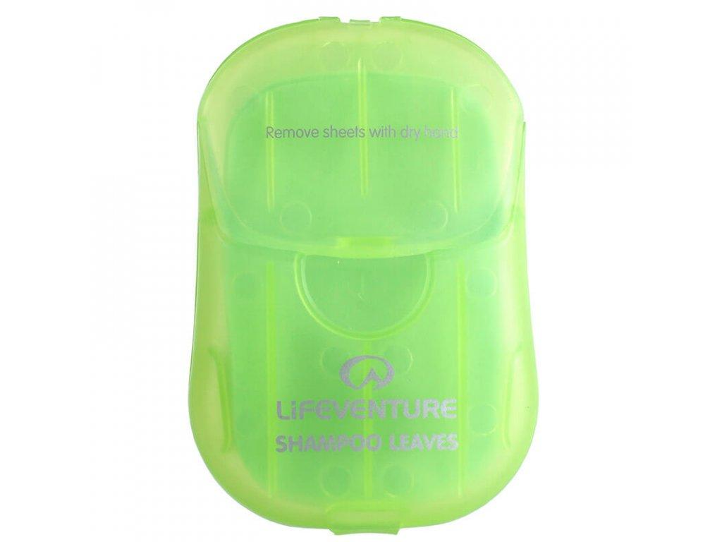 lifeventure cestovni sampon shampoo leaves 50 ks (1)