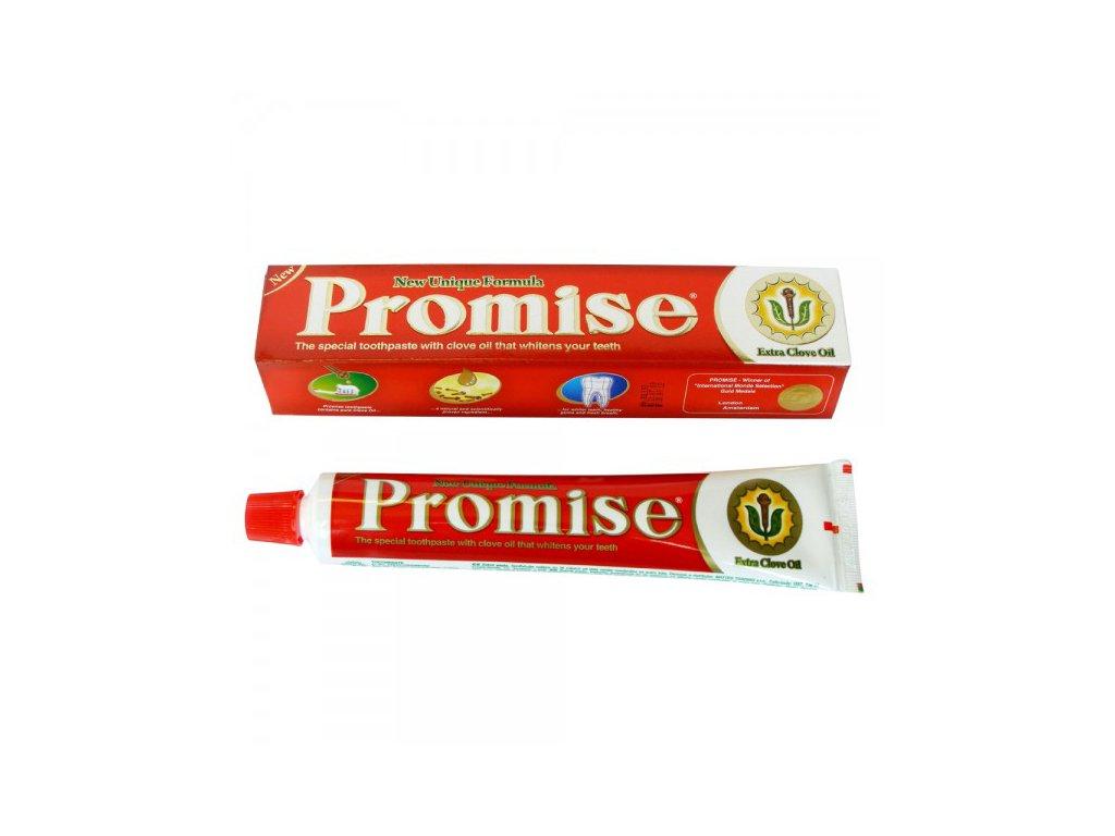 Zubní pasta Promise s hřebíčkovým olejem (20 g)