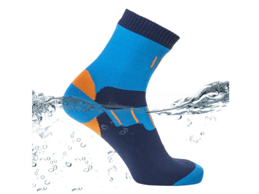 nepromokave vodeodolne ponozky modre 2