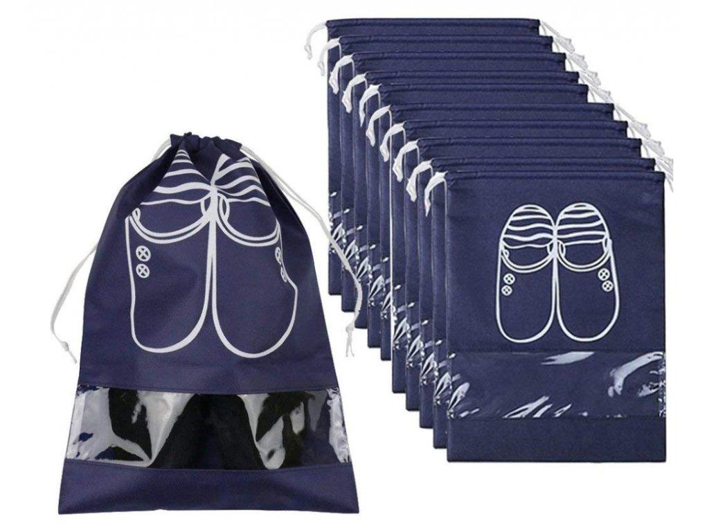 vodeodolny vak na boty modry sedy 3
