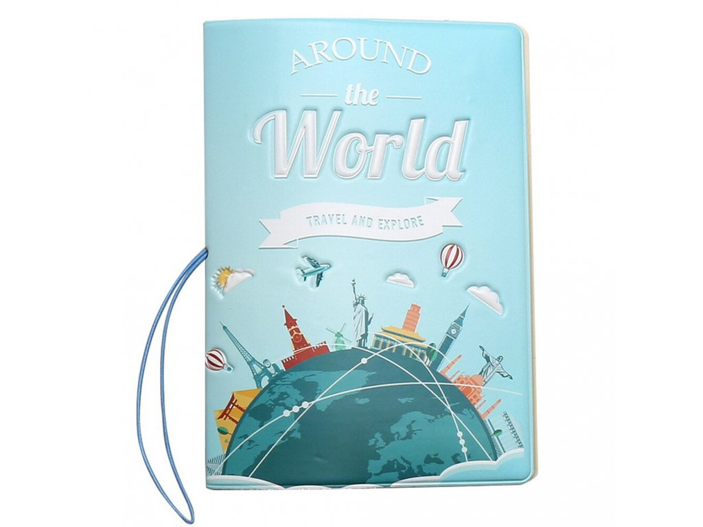 obal na pas pouzdro around the world 5