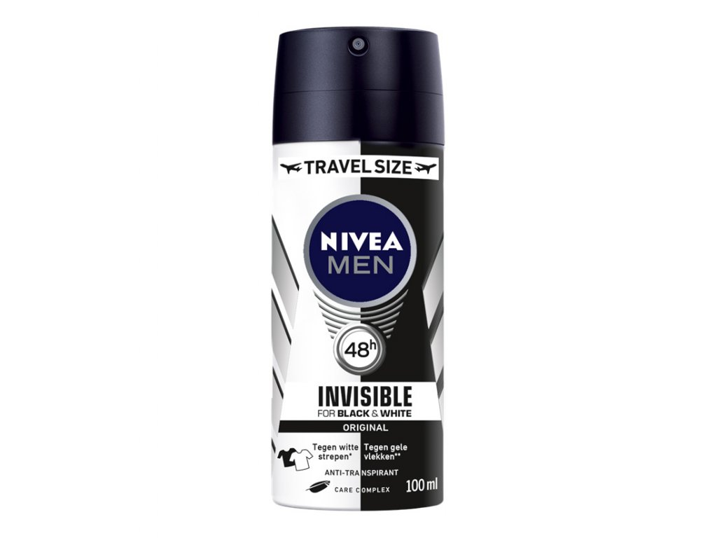 NIVEA MEN Black White Power mini 100 ml cestovní balení