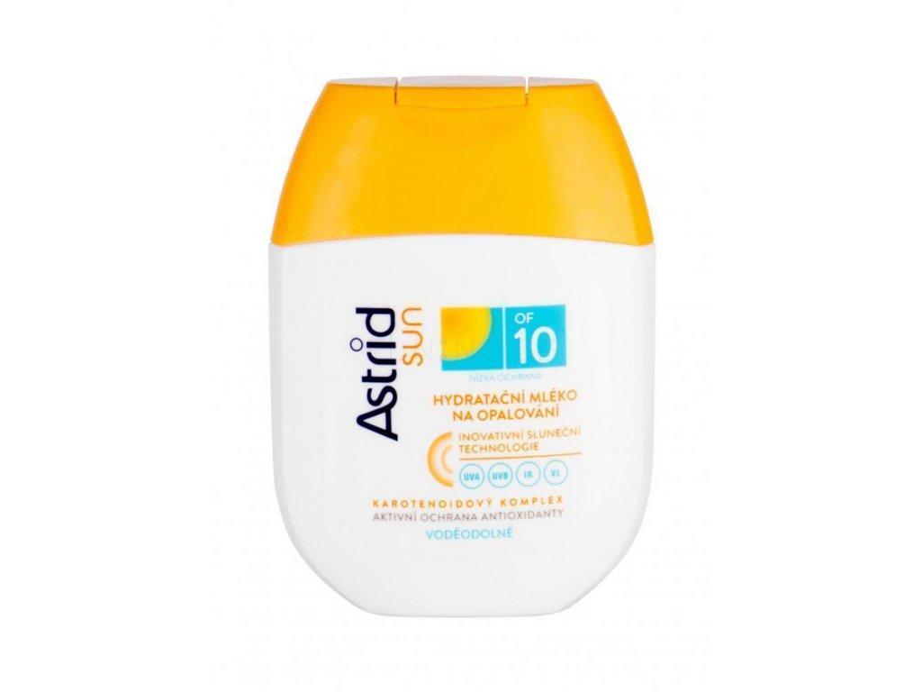 astrid hydratacni mleko na opalovani of 10 80 ml