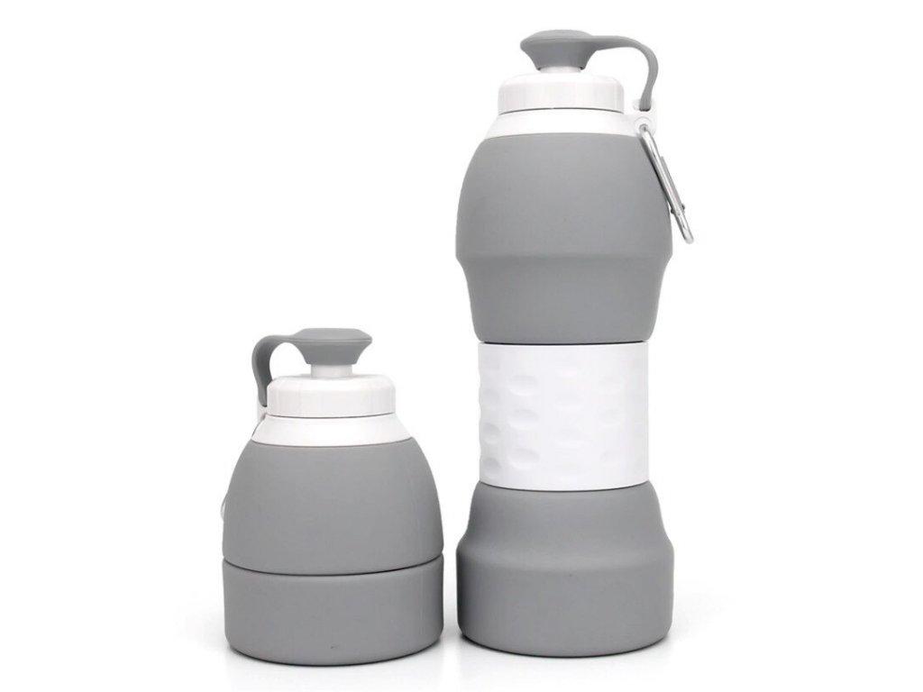 skladaci lahev se zpevnenym stredem 580 ml 3