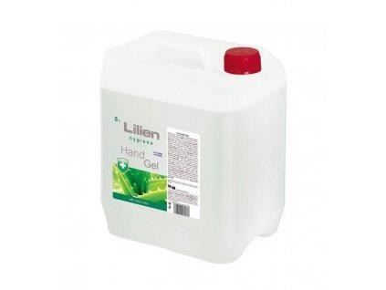 lilien hand sanitizer antibakterialni gel 5 l