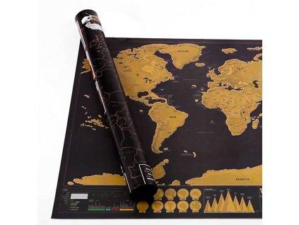 Cestovni stiraci mapa deluxe s tubou 3