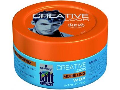 Schwarzkopf Taft Look Creative Look vosk na vlasy (75 ml)