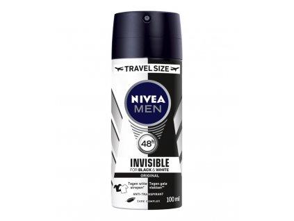 NIVEA MEN Black White Power mini 100 ml cestovní balení