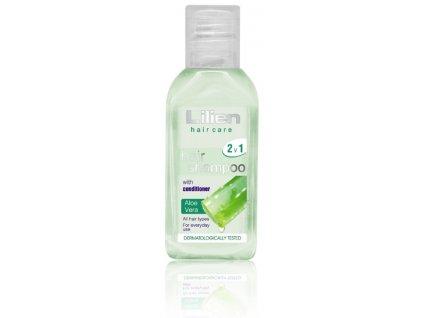 Vlasový šampon s kondicionerem lilien 2v1 cestovní balení