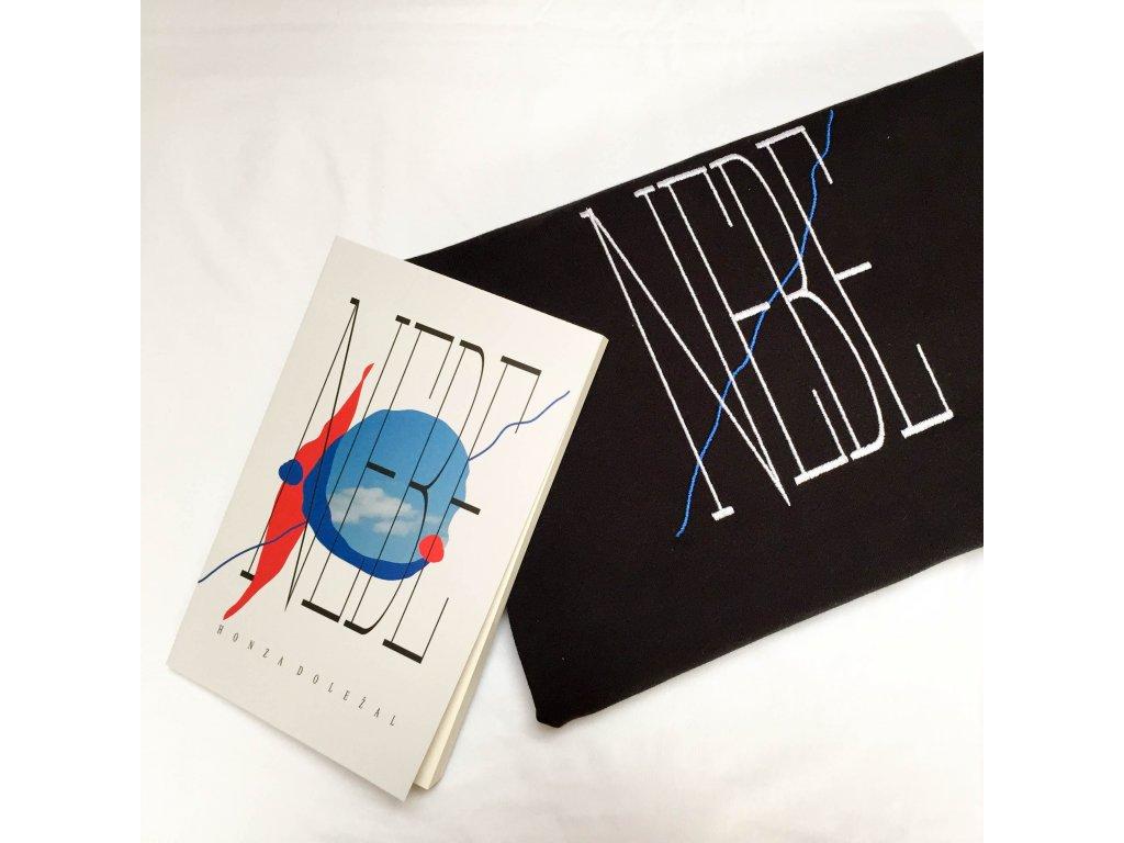 Kniha + triko / černé