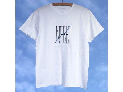 Triko NEBE / bílé