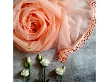 Něžná svatební / společenská šálka - více barev
