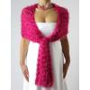 Luxusní hřejivé šály | růžové + červené odstíny