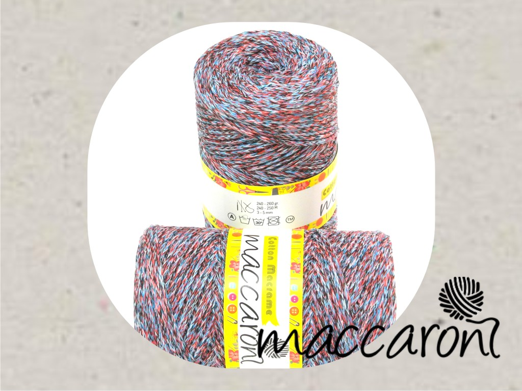 Cotton Macrame melange