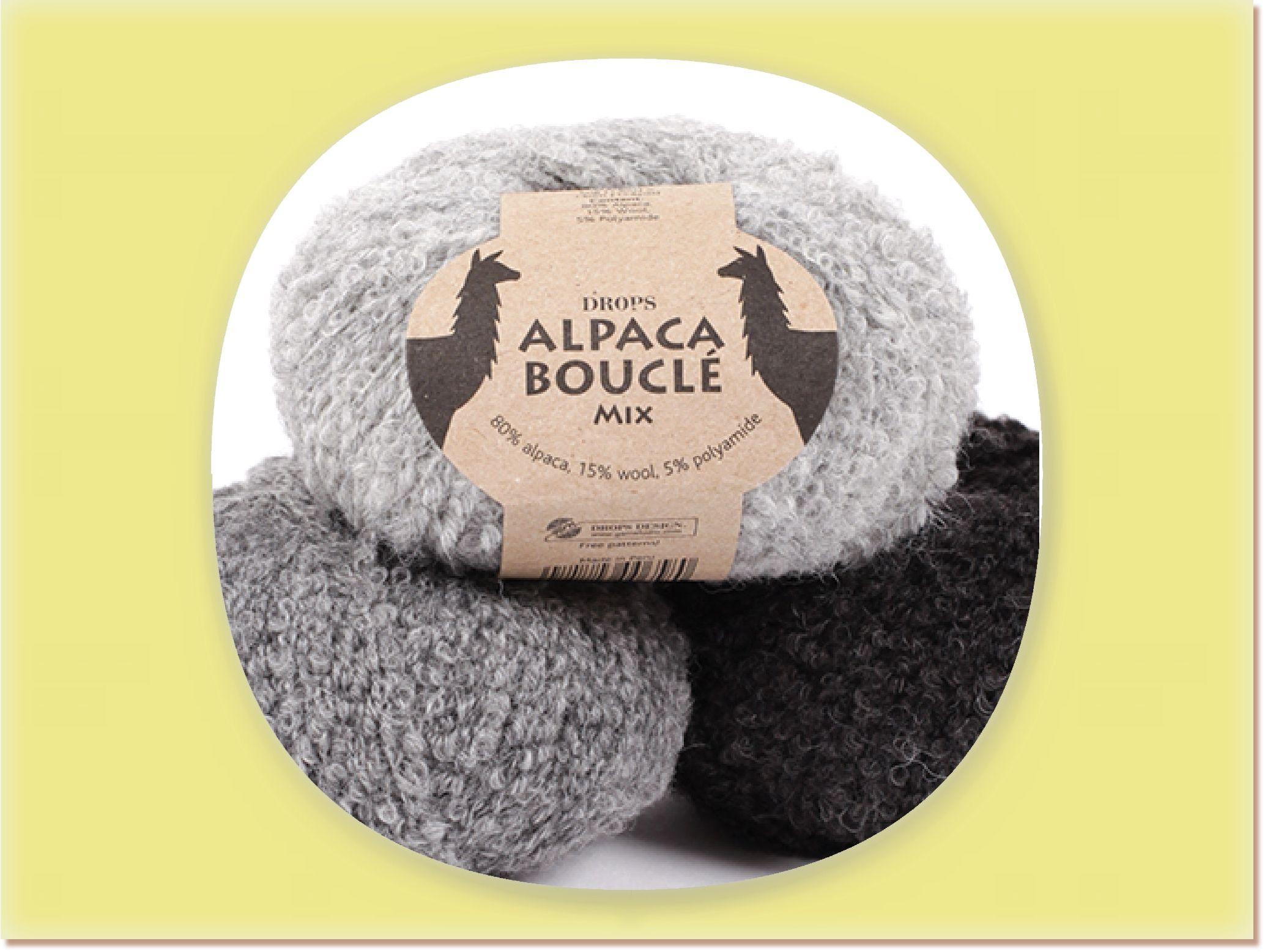 DROPS Alpaca Bouclé Mix