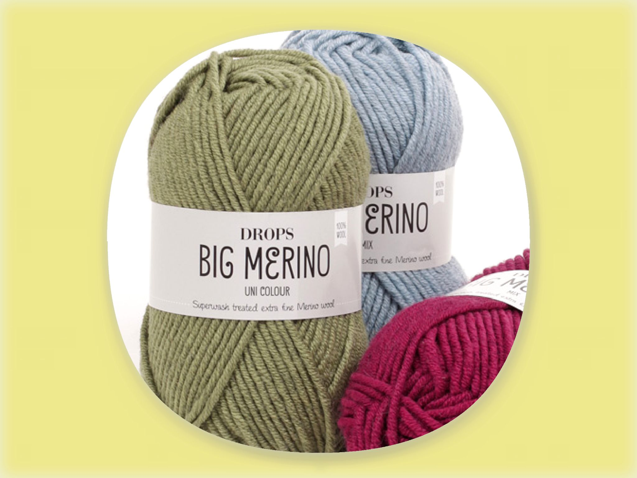 DROPS Big Merino Uni Colour