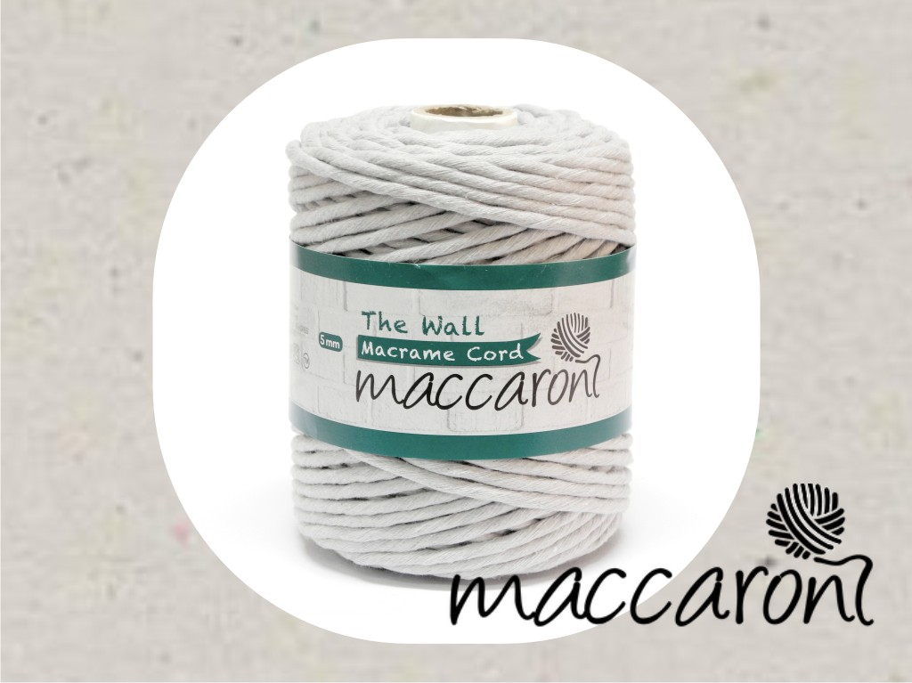 The Wall 5 mm Macrame Cord