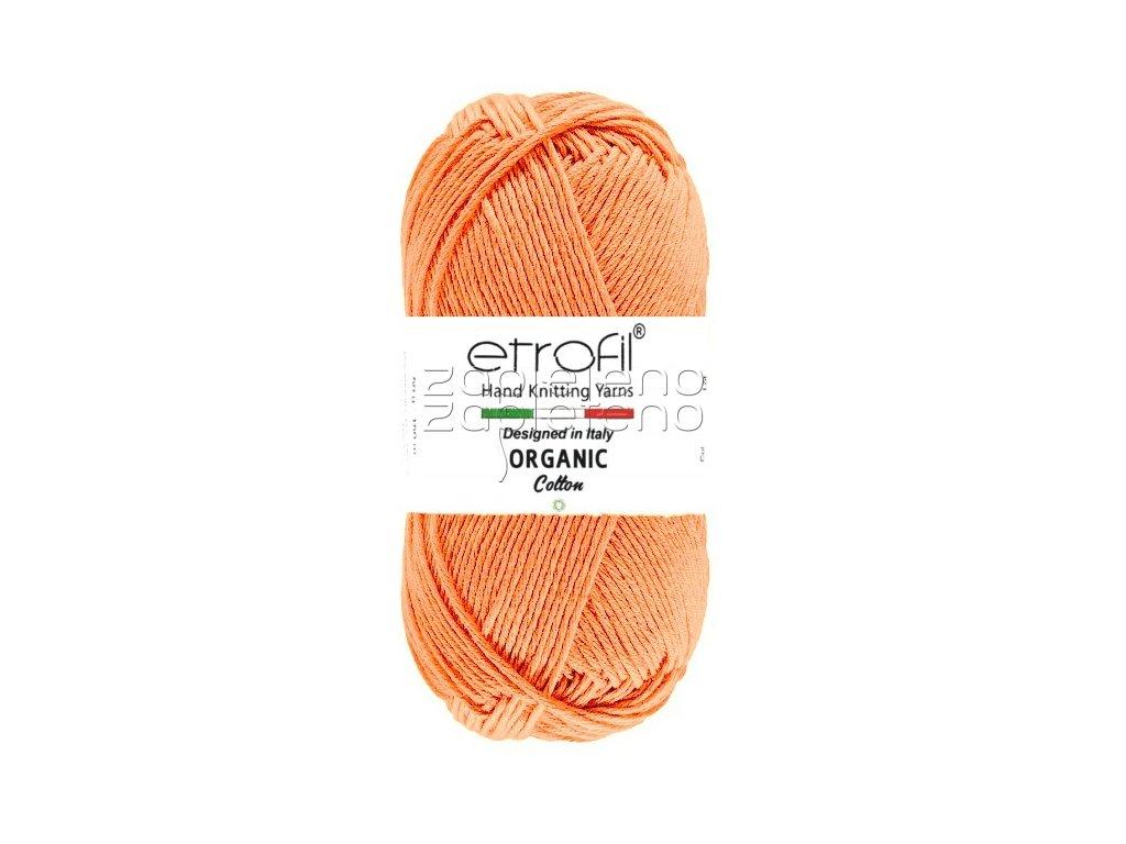 organic cotton EB006 lososova