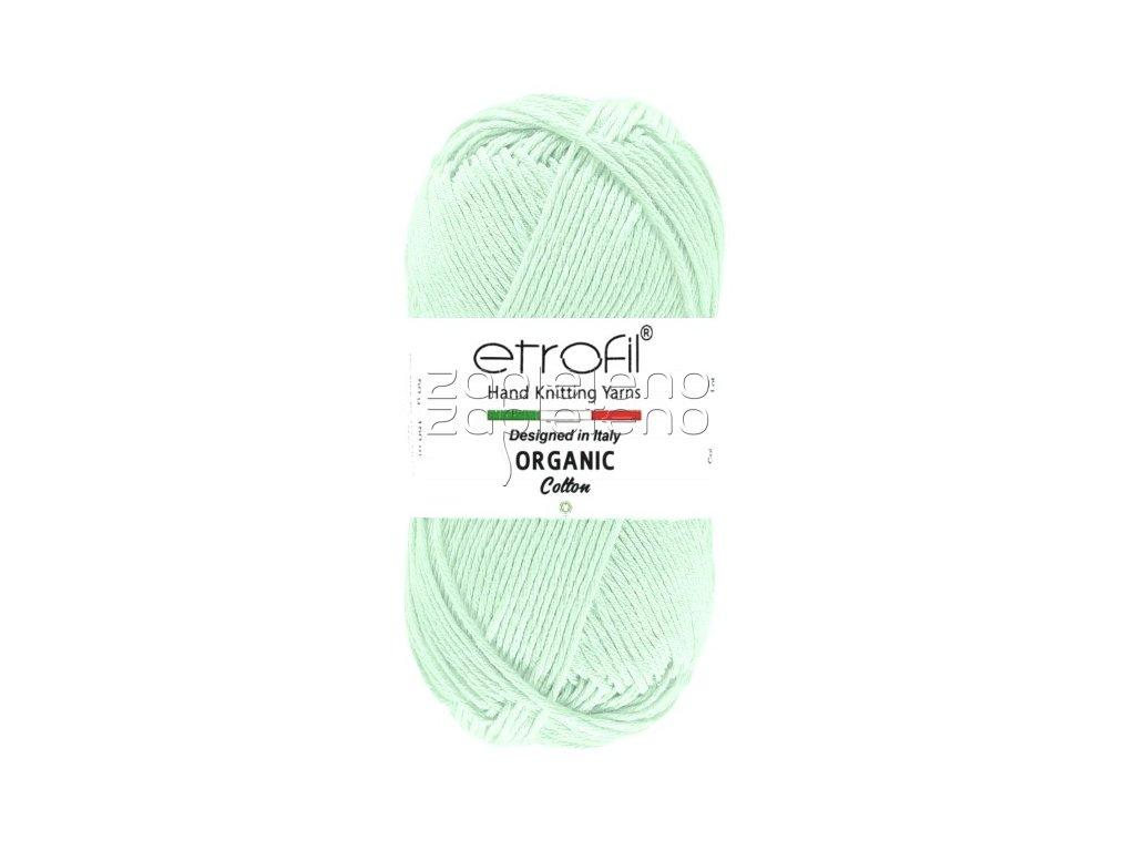 organic cotton EB010 mint