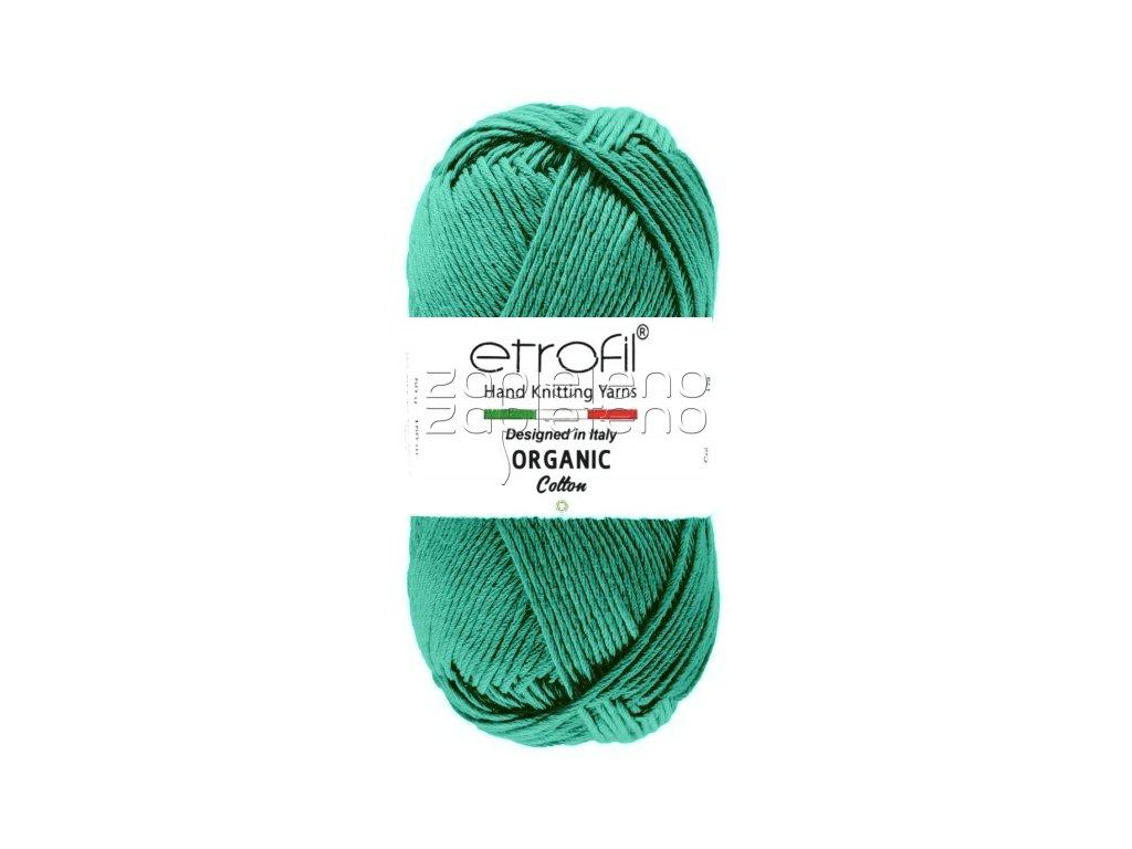 organic cotton EB012 petrolova