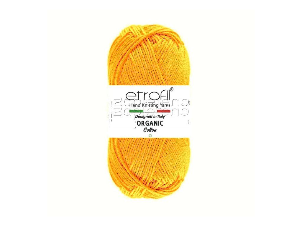 organic cotton EB017 oranzova