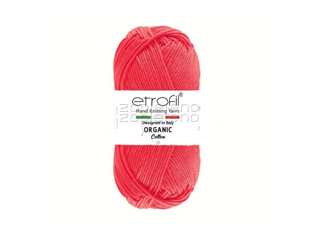 organic cotton EB020 tmava ruzova