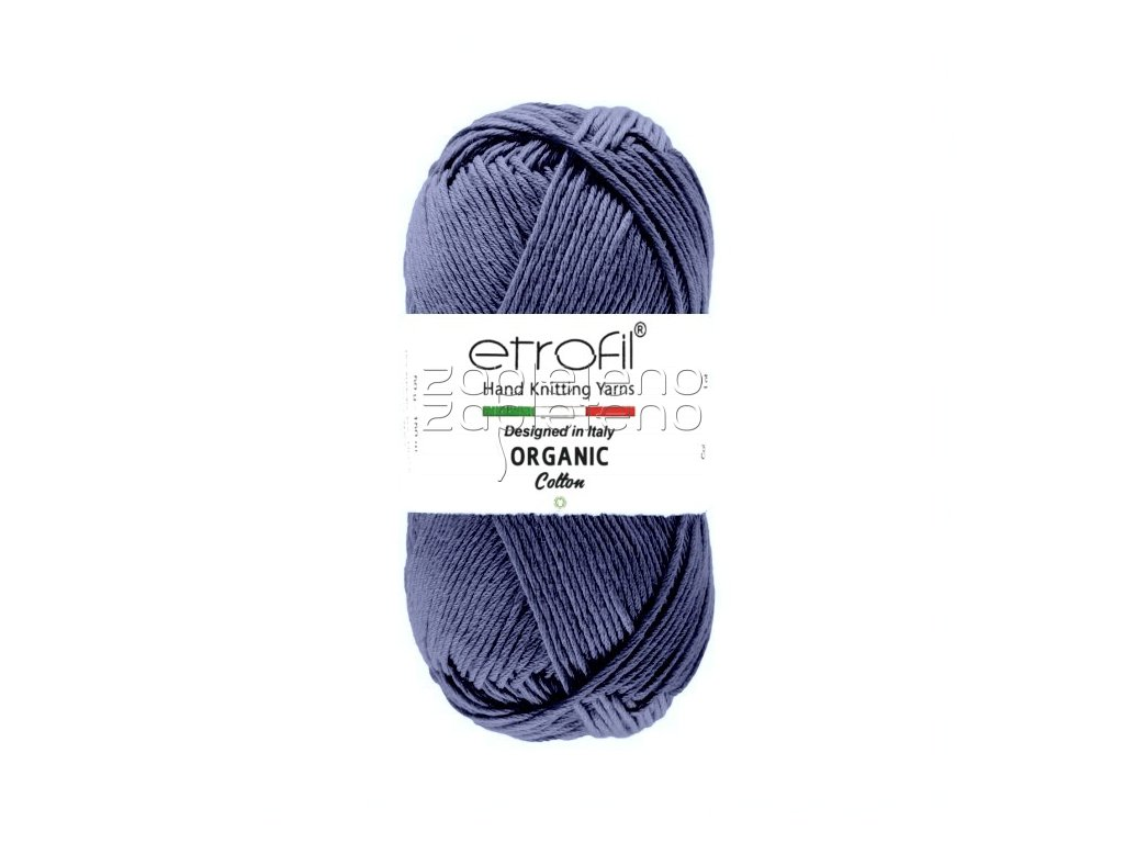 organic cotton EB023 indigo