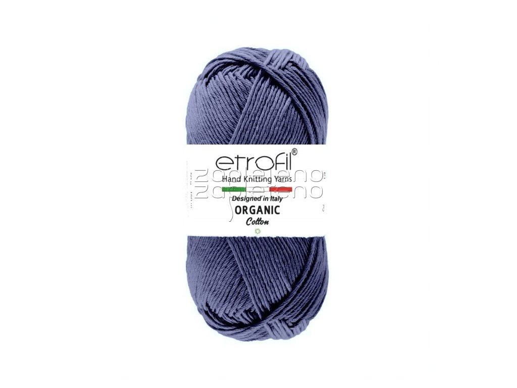 organic cotton EB023 indigo