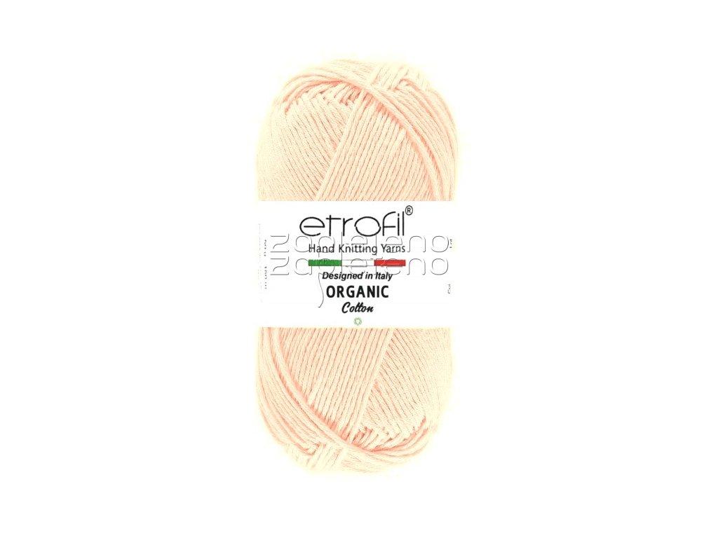 organic cotton EB033 svetla ruzova
