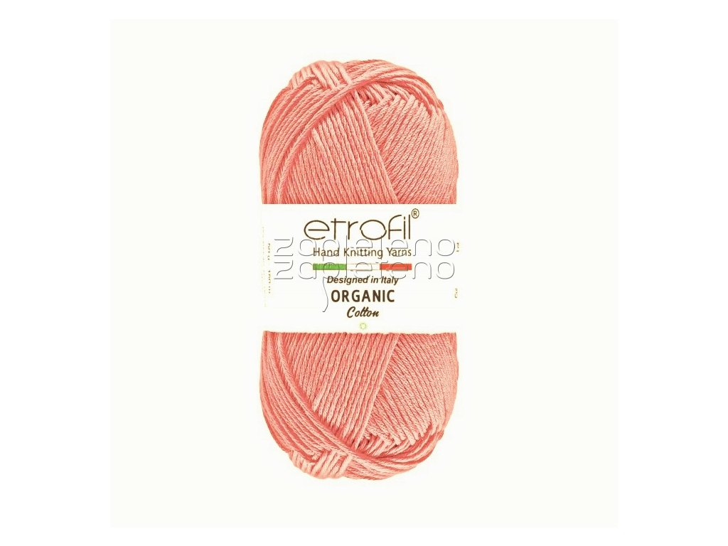 organic cotton EB035 svetla starofialova