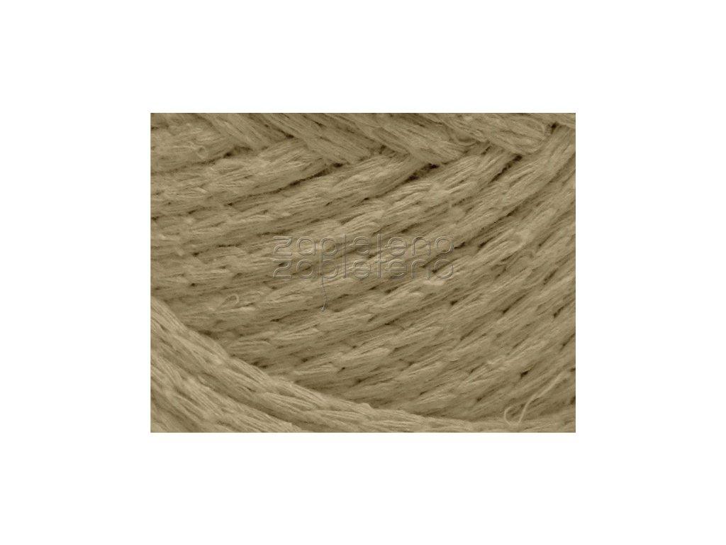 Cord Yarn hnedoseda 35
