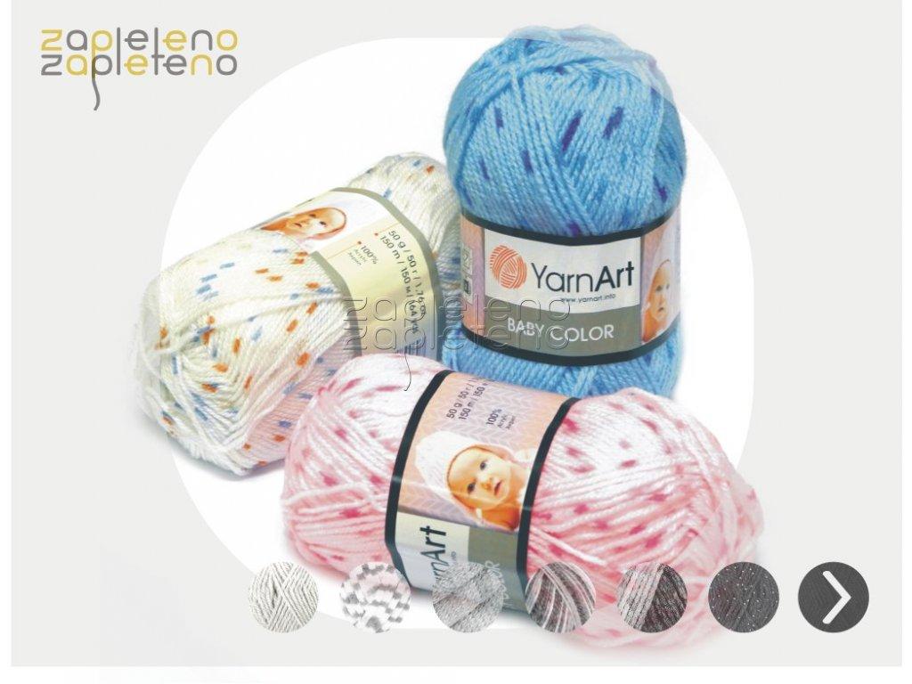 Baby Color YarnArt Zapleteno tit