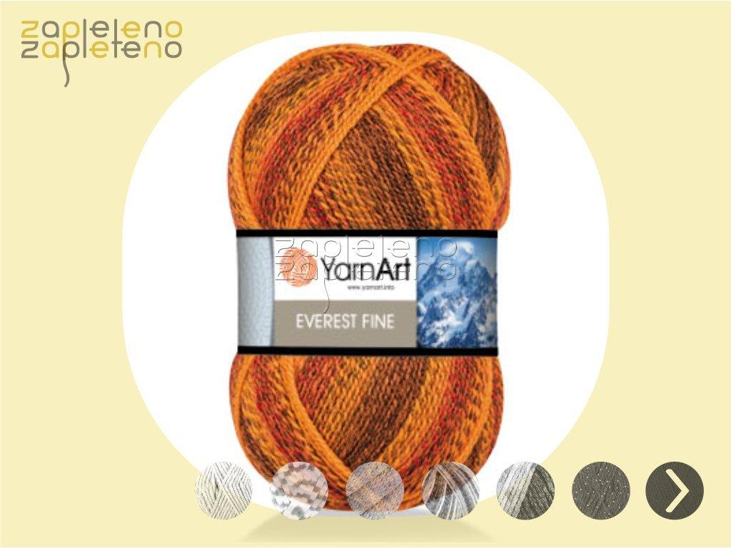 Everest Fine YarnArt Zapleteno tit