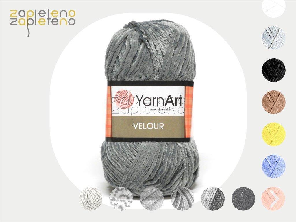 Velour YarnArt Zapleteno tit