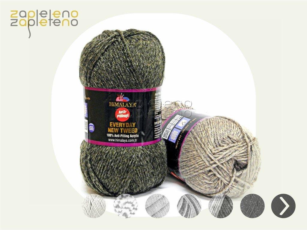 Everyday New Tweed Himalaya Zapleteno tit