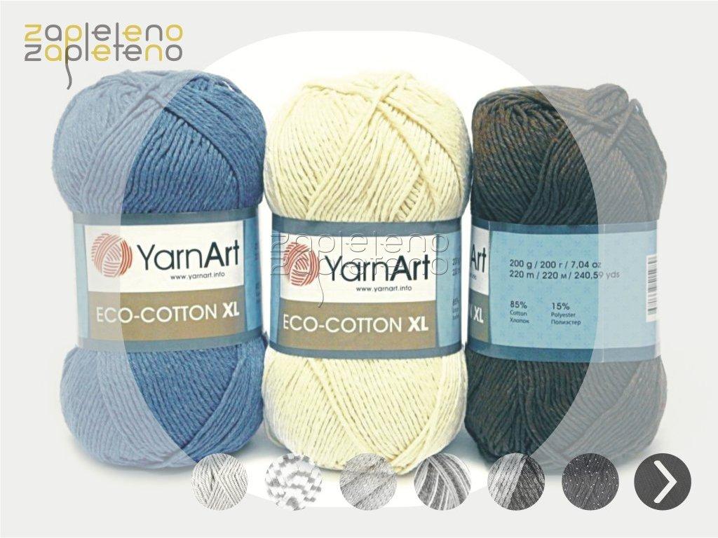 Eco cotton YarnArt Zapleteno tit