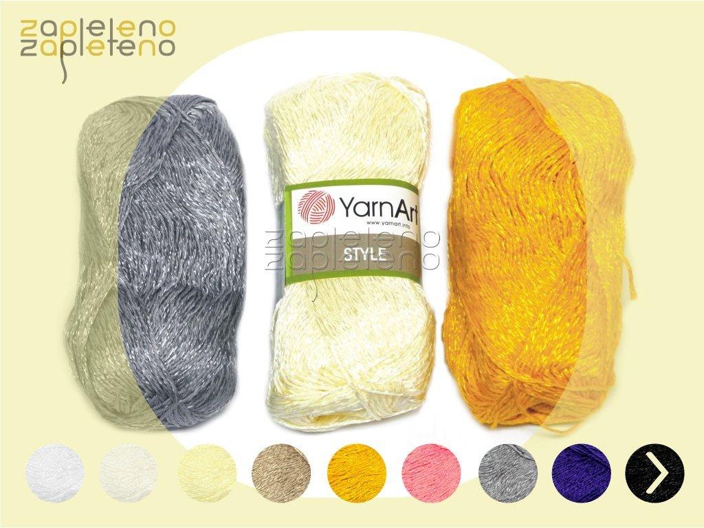 Style YarnArt Zapleteno tit