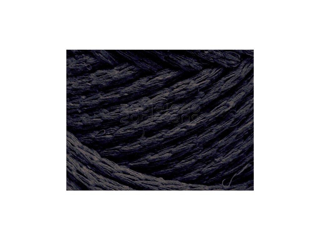 Cord Yarn 14 tmave navy modra