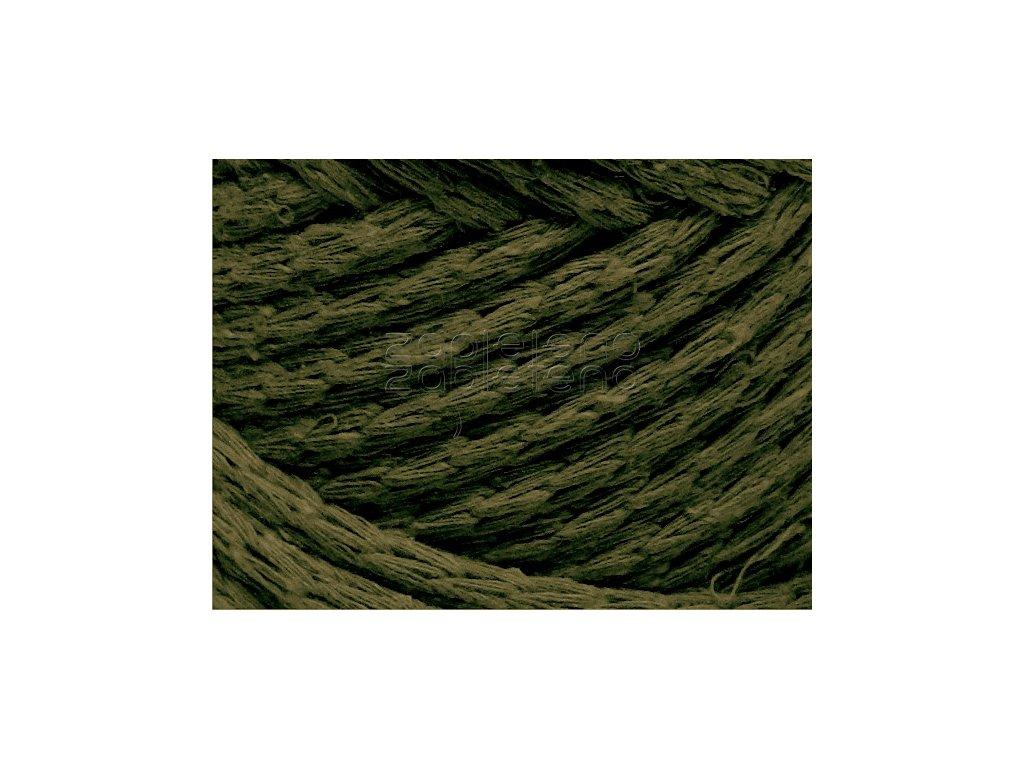 Cord Yarn 24 tmava olivova