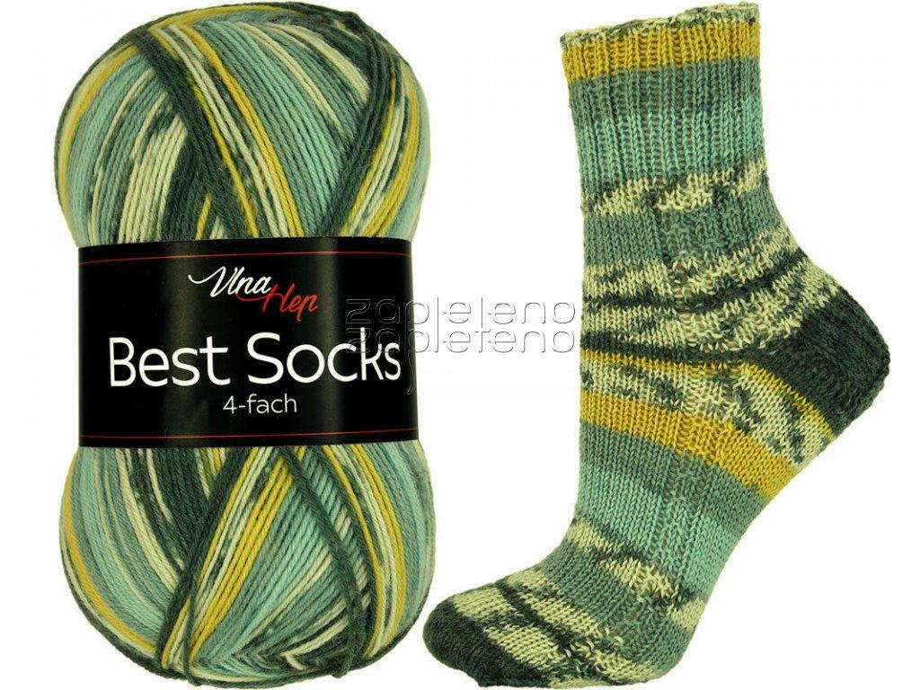Best Socks Vlna Hep Zapleteno