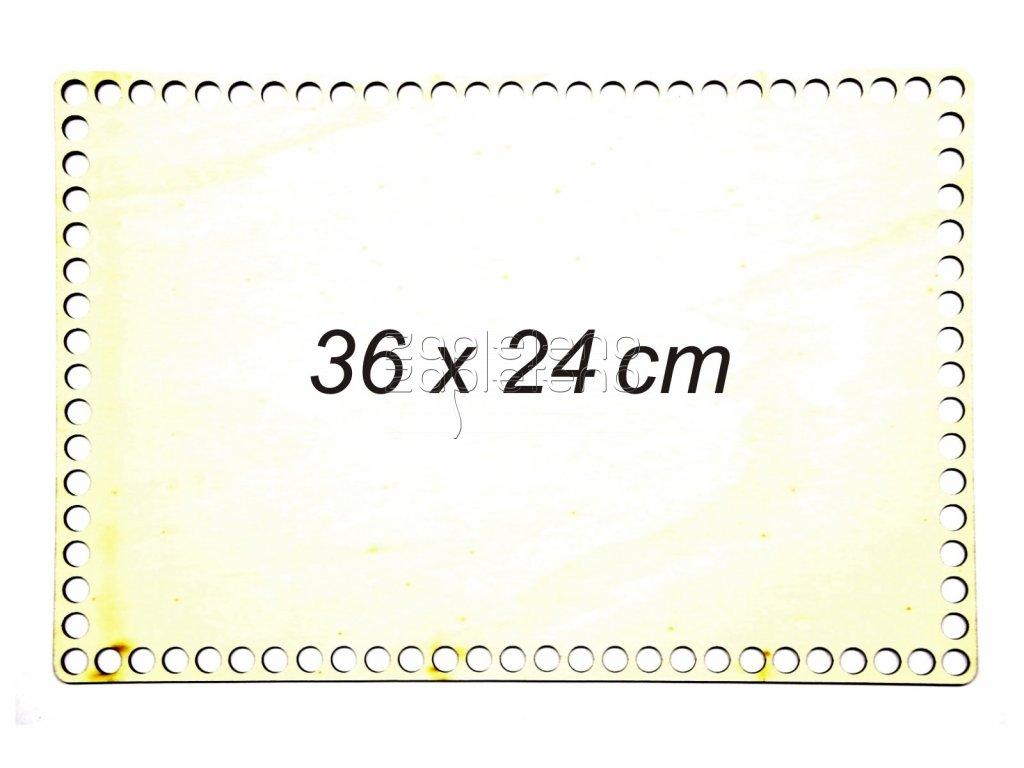 Dno obdelnik 36x24cm