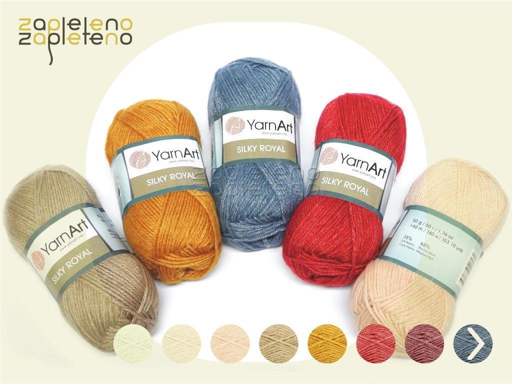 Silky Royal YarnArt Zapleteno