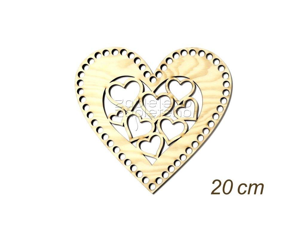 Viko srdce se srdicky 20cm