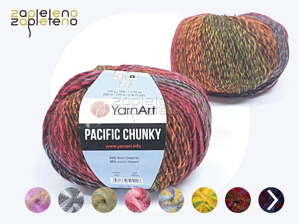 Pacific Chunky YarnArt Zapleteno