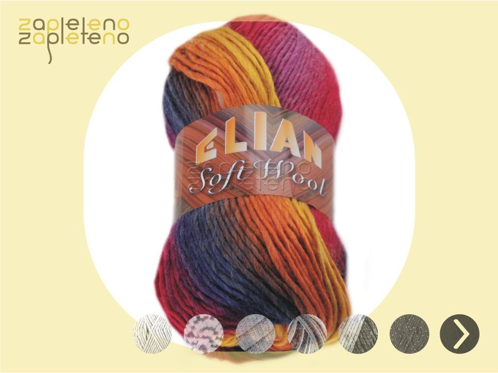 Elian Soft Wool Zapleteno